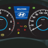 Hyundai Verna Stylish instrument Panel
