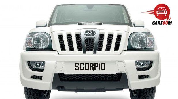Mahindra Scorpio Exteriors Front View
