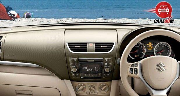 Maruti Suzuki Ertiga Interiors Dashboard