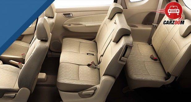 Maruti Suzuki Ertiga Interiors Seats