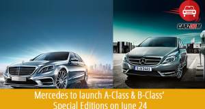 Mercedes A and B Class