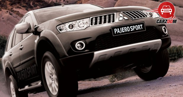 Mitsubishi Pajero Sport Exteriors Front View