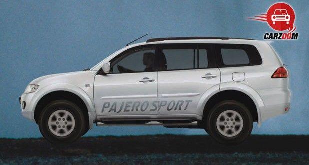 Mitsubishi Pajero Sport Exteriors Side View