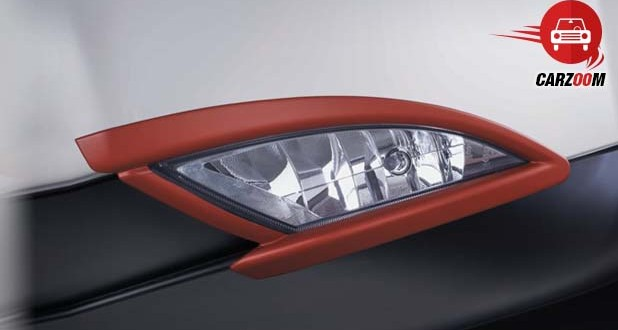 Signature Red Inserts On the Fog Lamps