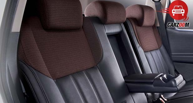 Sporty Seats Wrapped in Leather and Luxurious Fabric