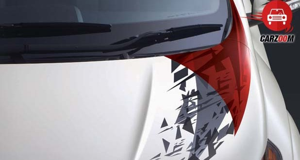 Stylish Sportz Decals on the Bonnet