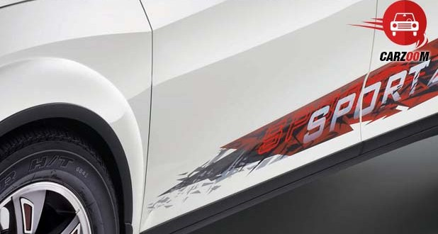 Stylish Sportz Decals on the Sides