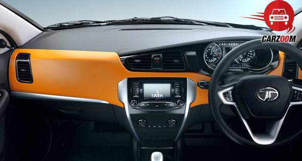 Tata Bolt Interiors Dashboard