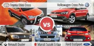 Toyota Etios Cross Vs All Rivals