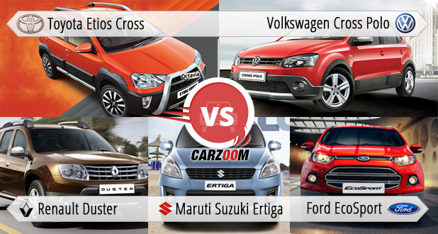 Toyota Etios Cross Vs All Rivals