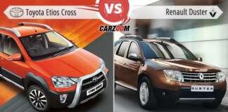 Toyota Etios Cross Vs Renault Duster