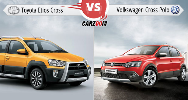 Toyota Etios Cross Vs Volkswagen Cross Polo