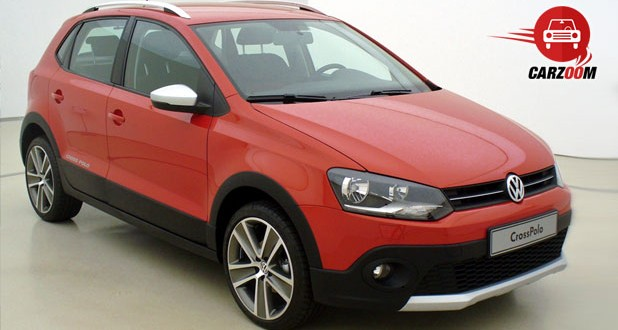 Volkswagen Cross Polo Exteriors Top View