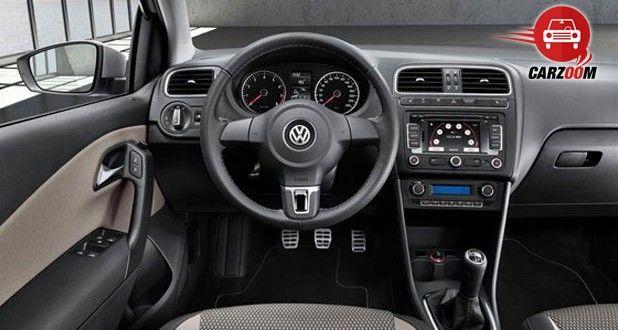 Volkswagen Cross Polo Interiors Dashboard