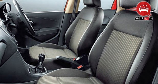 Volkswagen Cross Polo Interiors Seats