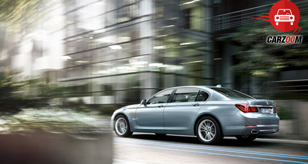 BMW Active Hybrid 7 Exteriors Rear View