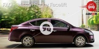 FAQ Nissan Sunny