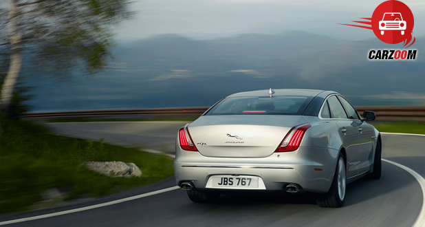 Jaguar XJ Exteriors Back View