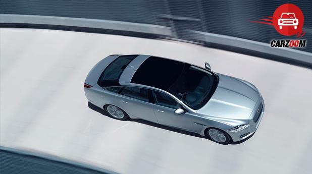 Jaguar XJ Exteriors Overall Top Side View