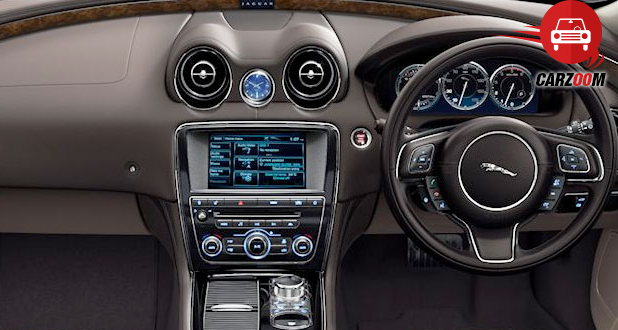 Jaguar XJ Interiors Dashboard