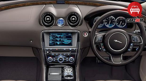 Jaguar XJ Interiors Dashboard