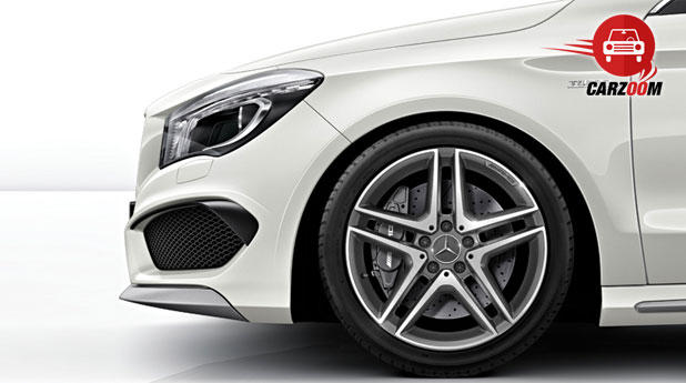 Mercedes Benz CLA 45 AMG Exteriors Bottom View
