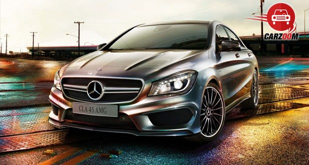 Mercedes Benz CLA 45 AMG Exteriors Front View