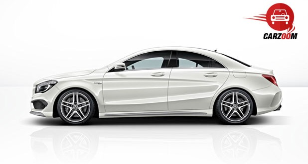 Mercedes Benz CLA 45 AMG Exteriors Side View