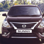 Nissan Sunny Facelift Exteriors Front View