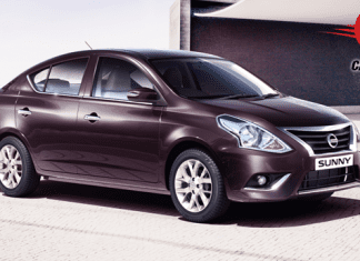 Nissan Sunny Facelift Exteriors Overall