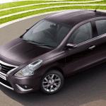 Nissan Sunny Facelift Exteriors Top View