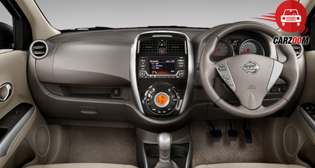 Nissan Sunny Facelift Interiors Dashboard