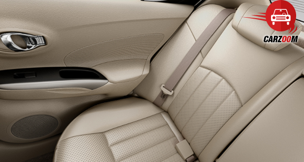 Nissan Sunny Facelift Interiors Seats