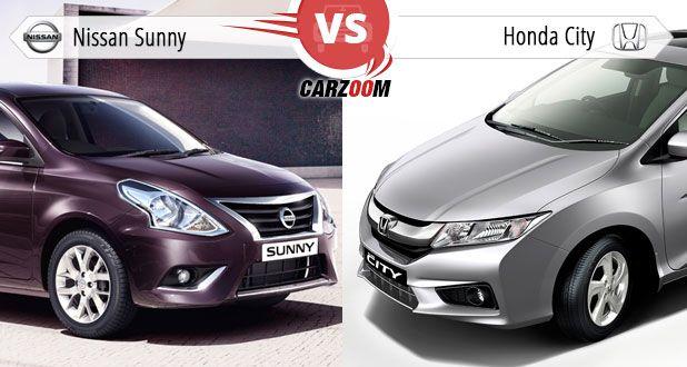 Nissan Sunny vs Honda City