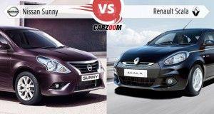 Nissan Sunny vs Renault Scala