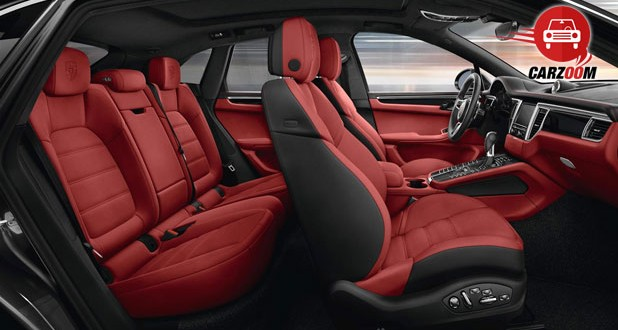 Porsche Macan S Interiors Top View