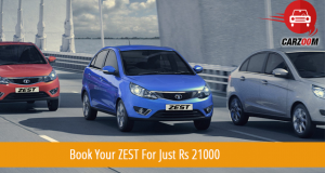 Tata Zest Booking Open