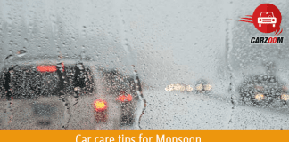 Car care tips for Monsoon