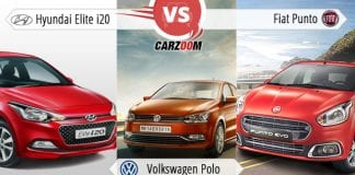 Hyundai Elite i20 vs Volkswagen Polo vs Fiat Punto