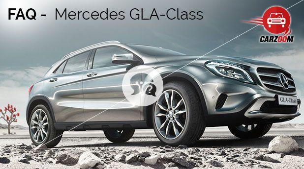 Mercedes-Benz GLA FAQ