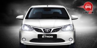 New Toyota Etios Exteriors Front View