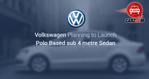 Volkswagen India is Planning to launch Polo Based sub 4 metre Sedan