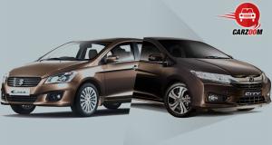 Honda City and Maruti Suzuki Ciaz