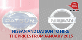 Nissan and Datsun GO