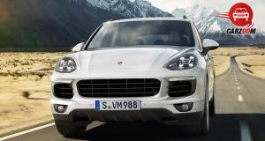 Porsche Cayenne Exteriors Front View