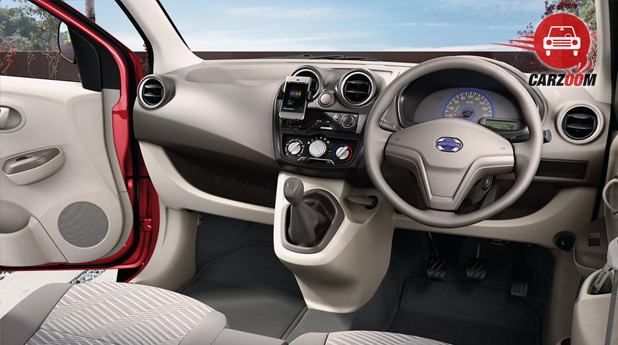 Datsun GO Plus Dashboard