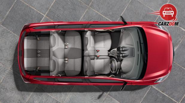 Datsun GO Plus Seat View