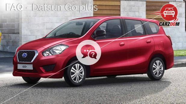 FAQ-Datsun Go plus