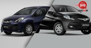 Honda Amaze and Honda Brio