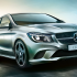 Mercedes Benz CLA Exteriors Front and Overall View